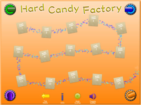 Hard Candy Factory Freestyle Menu