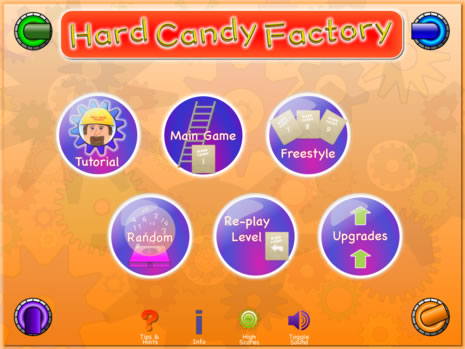 Hard Candy Factory Main Menu Example Scene