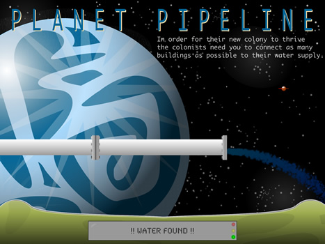 Planet Pipeline Splash Screen Intro