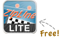 ZipLine Lite for iPad is available on the App Store